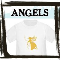 Angel and Fairy T-shirts, Apparel and Gifts