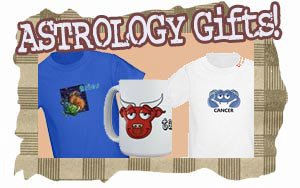 Zodiac T-shirts Gifts Astrology tshirt