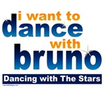 I want to Dance with Bruno Shirts, Fan Gear