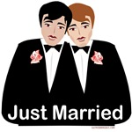 Gay Wedding T-shirts, Mugs, Favors