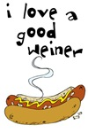I Love a Good Weiner T-shirts & Gifts