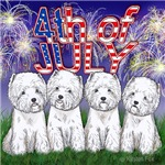 4th of July Westies
