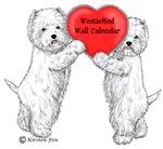 WestieMed Wall Calendar