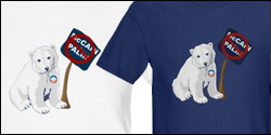 Polar Bears No McCain