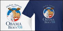 Alaskan Animals for Obama