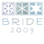 Winter Bride 2009 T-Shirts & Gifts