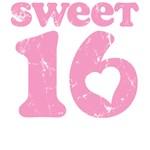 Retro Sweet 16 Birthday T-Shirts & Gifts