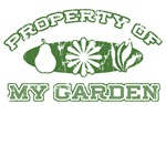 Property of My Garden T-Shirts & Gifts
