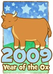 2009 Year of the Ox T-Shirts & Gifts