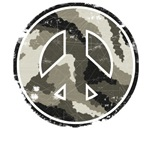 Vintage Camouflage Peace Sign T-Shirts & Gifts