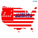 OYOOS USA America Flag design
