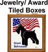 A tile Ribbon, Jewel or Award Box