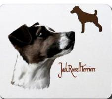 Jack Russell terrier on many gifts and shirts by m