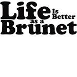 Life is better as a brunet