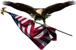 Eagle & Flag Patriotic Tees,T-shirts & Gift Ideas