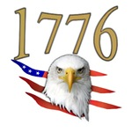 1776 Eagle Patriotic T-shirts & Gift Ideas
