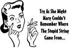 Memory Loss Humor Retro Design