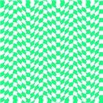 Retro Wave Mint Green
