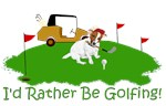 The Jack Russell Golfer