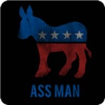 Democrat Ass Man