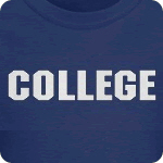 COLLEGE T SHIRT