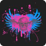 Splatter Skull T-Shirt