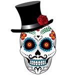 El Catrin Dandy Skull