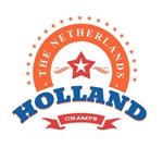 Holland Nederland Oranje Retro Badge