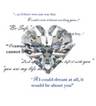 Twilight- Edward's Heart charm with quotes