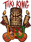Tiki King crossed Ukes Logo