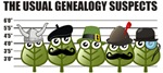 The Usual Genealogy Suspects
