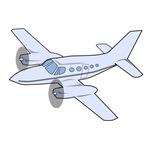 Twin Engine Airplane