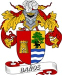 Baños Coat of Arms, Family Crest