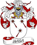 Maza Coat of Arms, Family Crest
