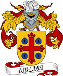 Molins Coat of Arms, Family Crest