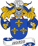 Monso Coat of Arms, Family Crest