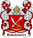 Bakalowicz Coat of Arms, Family Crest