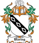 Waring Coat of Arms, Family Crest