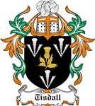 Tisdall Coat of Arms, Family Crest