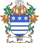 Pitt Coat of Arms, Family Crest
