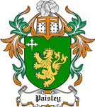 Paisley Coat of Arms, Family Crest