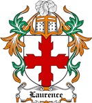 Laurence Coat of Arms, Family Crest