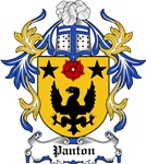 Panton Coat of Arms, Family Crest