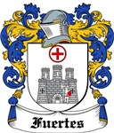 Fuertes Coat of Arms, Family Crest