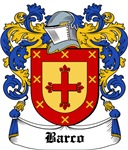 Barco Coat of Arms, Family Crest