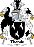 Thorold Family Crest