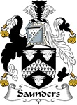 Saunders Family Crest
