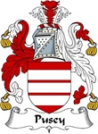 Pusey Family Crest