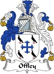 Offley Family Crest