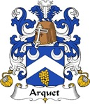 Arquet Family Crest